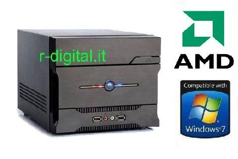 MINI COMPUTER AMD ITX ATHLON 260+ DUAL CORE PC RAM 4Gb HD 1Tb